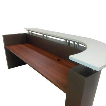 Monarch Reception Desk, Inside