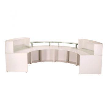 Evolve Large Reception Desk, Inside View