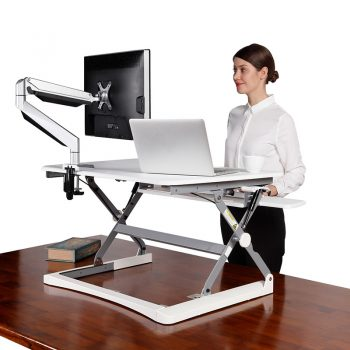 Move Desk Top Mounted Height Adjustable Stand