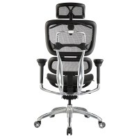 Hi-Tech Ergo Chair - Large Black mesh seat and back ...