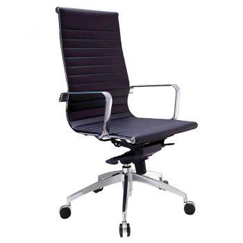 Kew High Back Chair - Black