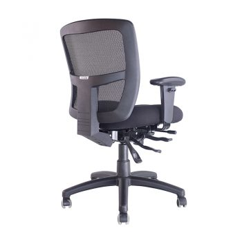 Summit Promesh Chair, with Arms, Angle View