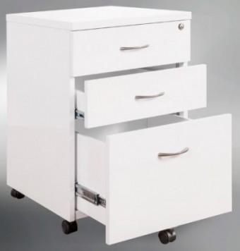 White Gloss Mobile Drawer Unit
