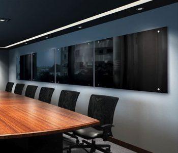 Magnetic Black Glass Boards