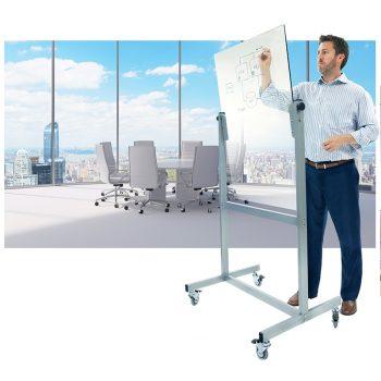 Mobile Pivoting Glass Board