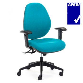 Samson Extra Heavy Duty High Back Ergonomic Office Chair, with Arms