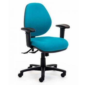 Samson Lite Medium Back Ergonomic Office Chair, with Arms