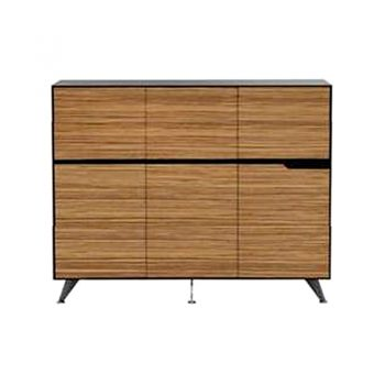 Carine 6 Door Cabinet, Small,1855mm W x 425mm D x 1250mm H