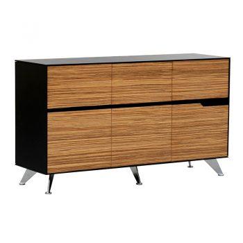 Carine 6 Drawer Cabinet, 1855mm W x 425mm D x 800mm H