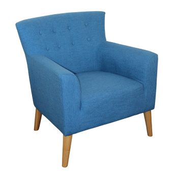 Gina Chair, Sky Fabric