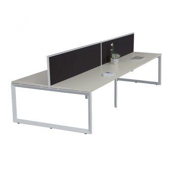 Modular Loop 4-Way Desk Pod