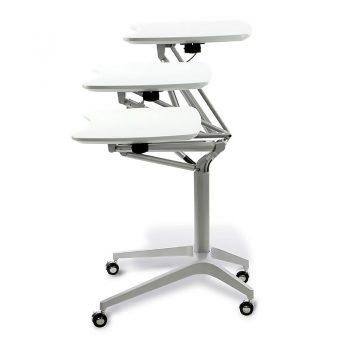 Vertical Height Adjustable Personal Desk