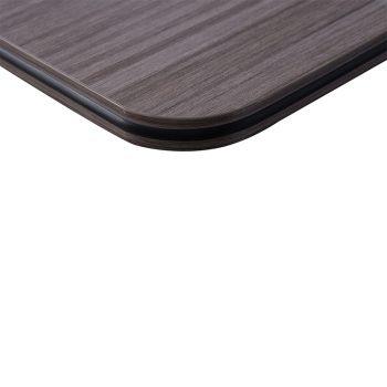 Harper Vertical Folding Table, Driftwood Edge Detail
