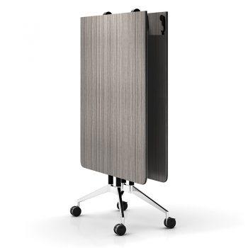Harper Vertical Folding Table, Driftwood, Image 3