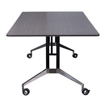 Harper Vertical Folding Table, Driftwood, Image 4
