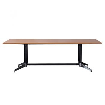 Kennedy Meeting Table, Side View Beech