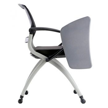 Lexi Nesting Chair with Tablet Arm Side View