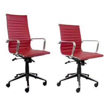 Hunter Chair Range, Dark Red