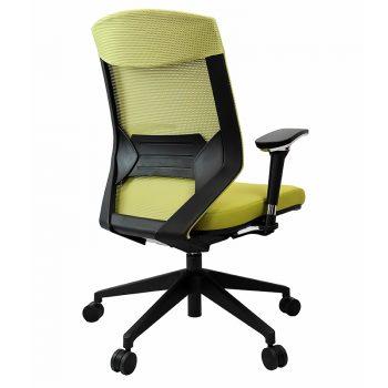 Breathe Pro Chair, Green, Rear View