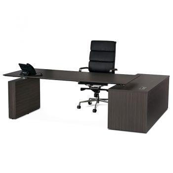 Electric executive desk