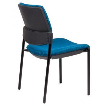 Juni 4 Leg Visitor Chair, Rear View