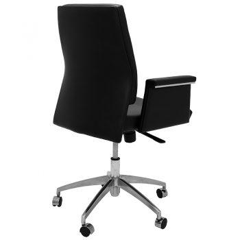 Croydon Medium Back Chair, Right Rear Angle View