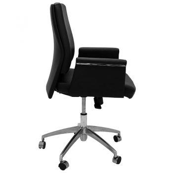 Croydon Medium Back Chair, Right Side View