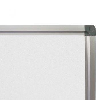 Deluxe Porcelain Heavy Duty Magnetic White Board, Frame Detail
