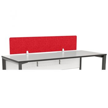Practical Desk Top Red Screen Divider