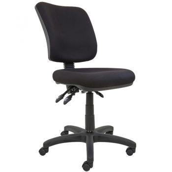 Uni High Back Chair, Black Fabric Colour