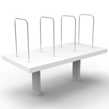 Desk Mounted Shelf