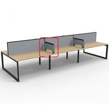 Optional Desk Dividers, Grey