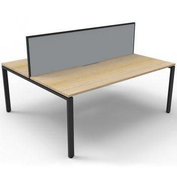 Back to back desks