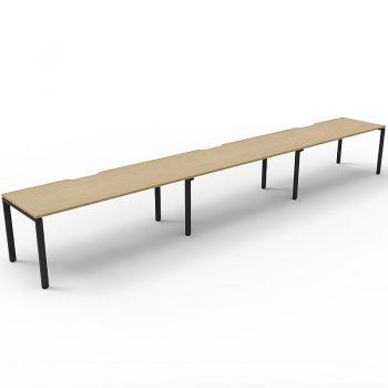 3 inline desks