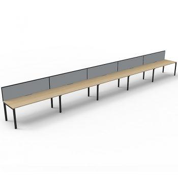5 desk pod