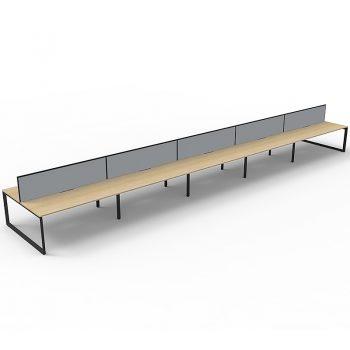 Infinity Deluxe Loop Leg Desk