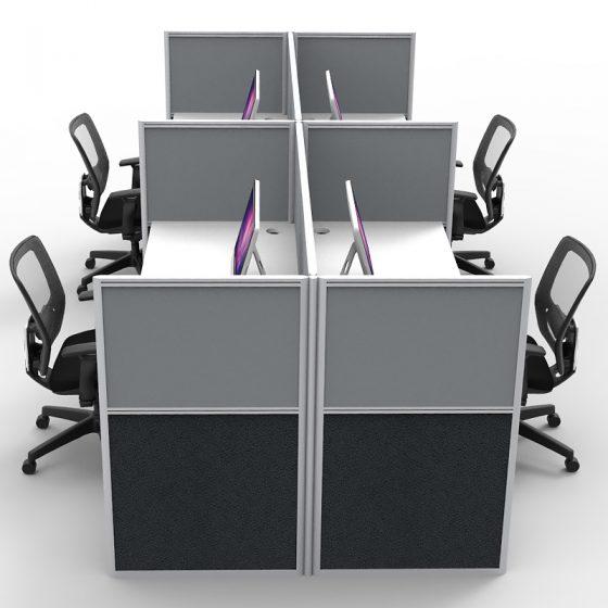 Grey screen dividers