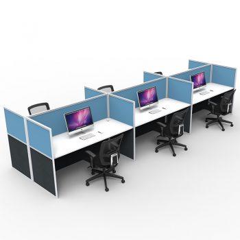 6 desk group