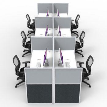Pod of 8 desks