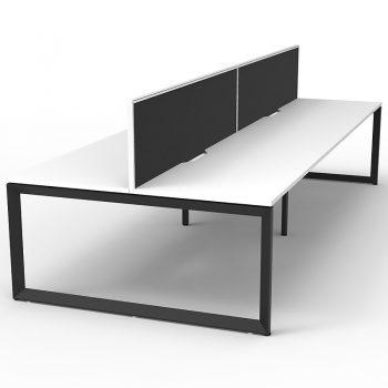 group of 4 desks