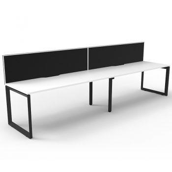 2 inline desks