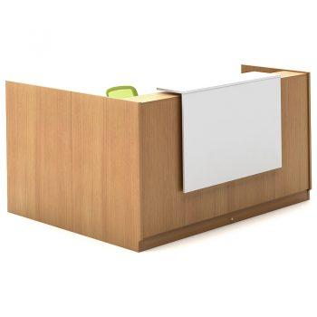 Beech Sorrento Reception Desk
