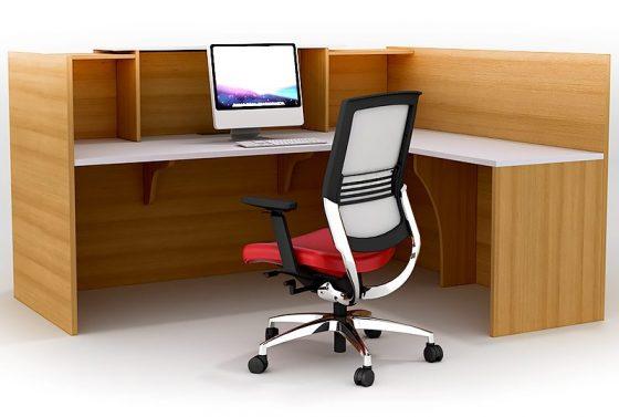 Rosalie Beech Desk with Chair