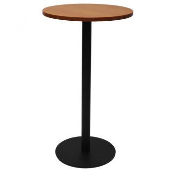 Black round high bar
