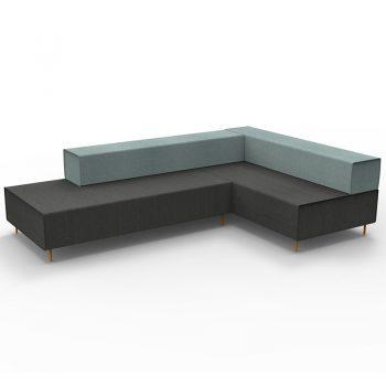 L Shape Reception Lounge