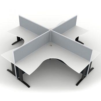 4 Way Workstation Pod