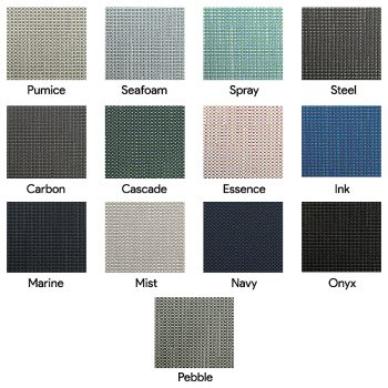 Screen fabric colours