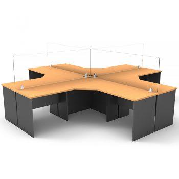 acrylic desk screen