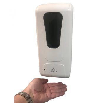 Wall mounted sanitiser dispenser