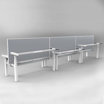 Sit stand desks, no desk tops